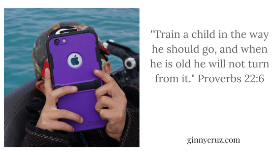 _Train a child in the way he should go, and when he is old he will not turn from it._ Proverbs 22_6